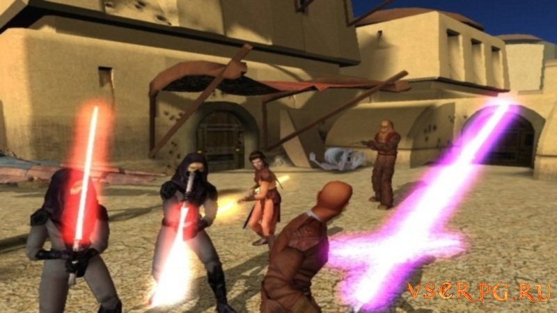 Star Wars: Knights of the Old Republic screen 2