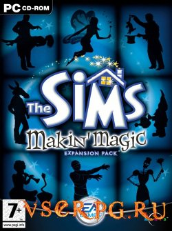 Постер игры The Sims Makin Magic