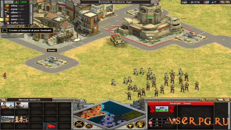 Rise of Nations screen 2