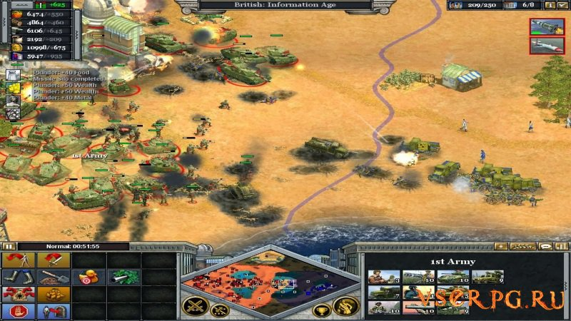 Rise of Nations screen 1