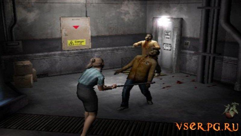 Resident Evil Outbreak screen 1