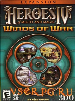 Постер игры Герои 4: Вихри Войны