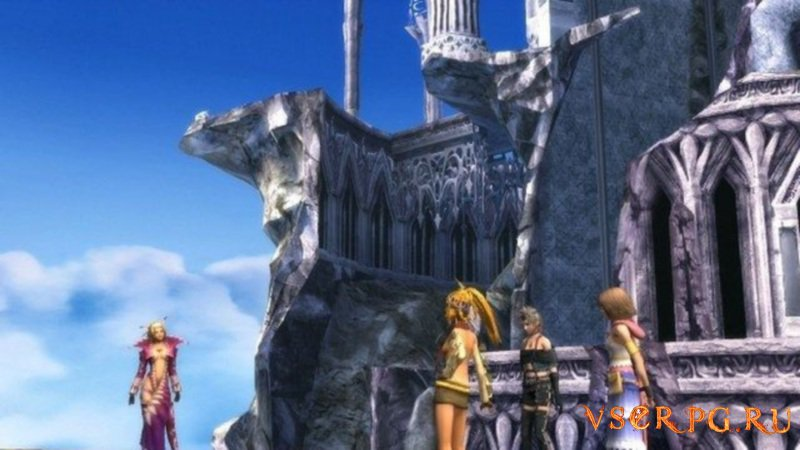 Final Fantasy X-2 screen 1