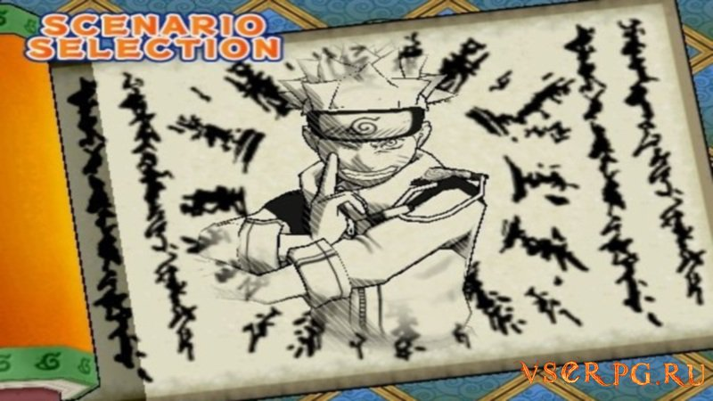 Naruto Ultimate Ninja screen 2