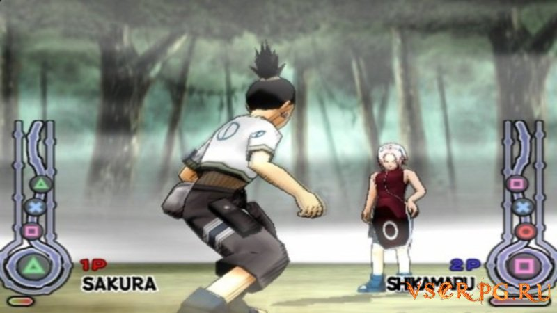 Naruto Ultimate Ninja screen 1