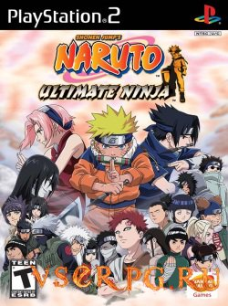 Постер игры Naruto Ultimate Ninja