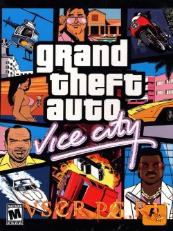 Постер игры GTA Vice City