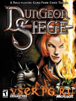 Постер игры Dungeon Siege