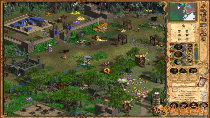 Heroes of Might and Magic 4 screen 3