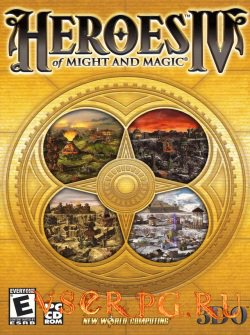 Постер игры Heroes of Might and Magic 4