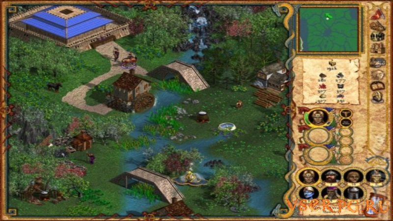 Heroes of Might and Magic 4 screen 2