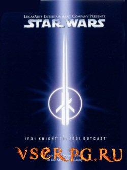 Постер игры Star Wars Jedi Knight 2: Jedi Outcast