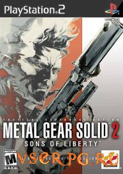 Постер игры Metal Gear Solid 2