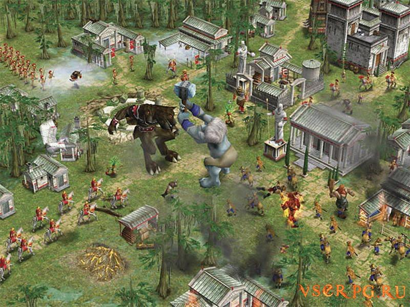 Age of Mythology screen 2