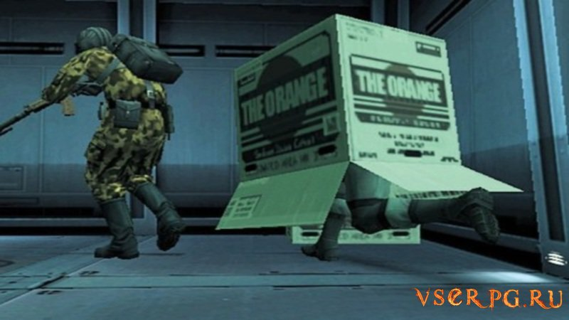 Metal Gear Solid 2: Sons of Liberty screen 1