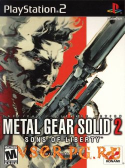 Постер игры Metal Gear Solid 2: Sons of Liberty
