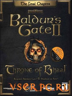 Постер игры Baldurs Gate 2: Throne of Bhaal