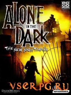Постер игры Alone in the Dark: The New Nightmare