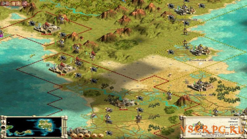 Civilization 3 screen 3
