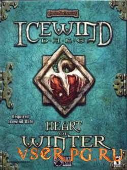Постер игры Icewind Dale: Heart of Winter