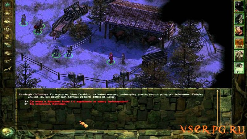 Icewind Dale: Heart of Winter screen 3