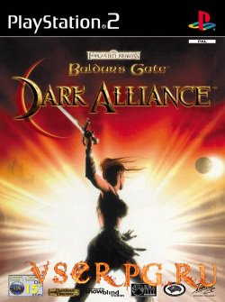Постер игры Baldurs Gate Dark Alliance