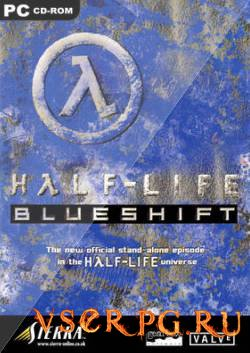 Постер игры Half-Life Blue Shift