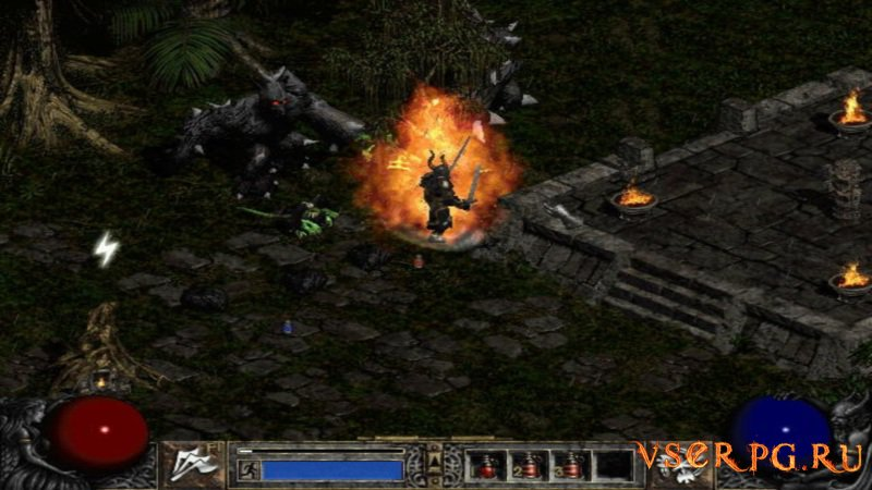 Diablo 2 screen 1