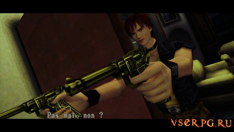 Resident Evil Code Veronica screen 2