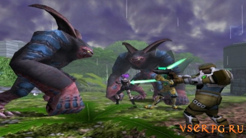 Phantasy Star Online screen 2