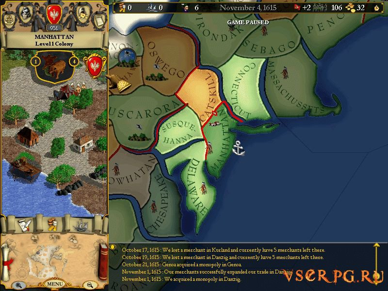 Europa Universalis screen 3