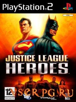 Постер игры Justice League Heroes