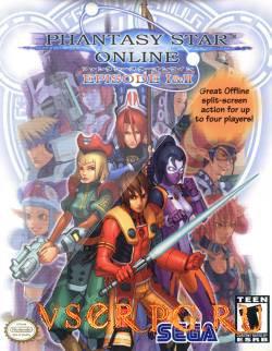 Постер игры Phantasy Star Online