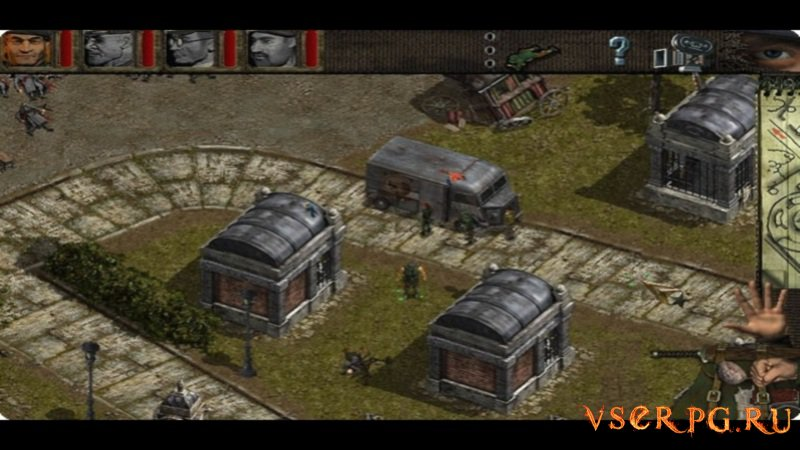 Commandos: Beyond the Call of Duty screen 3