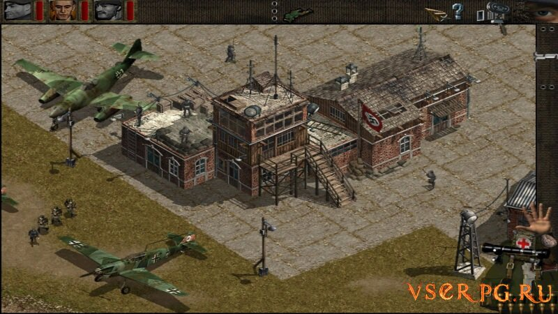 Commandos: Beyond the Call of Duty screen 1