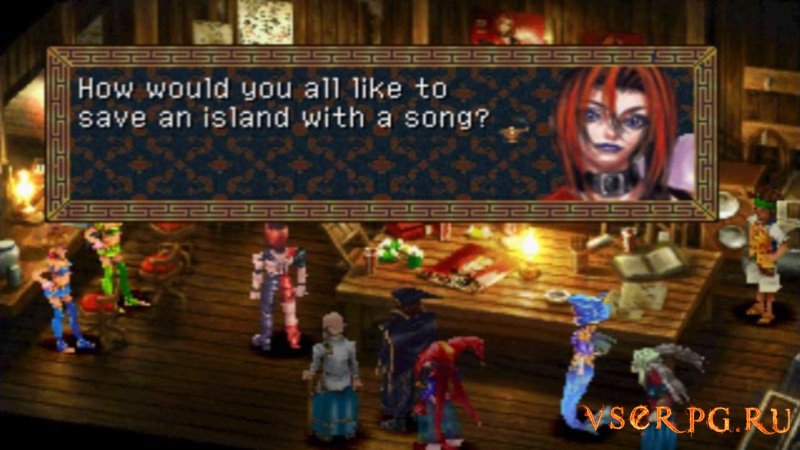 Chrono Cross screen 1