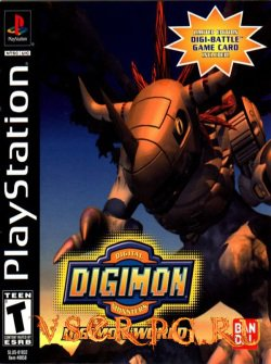 Постер игры Digimon World