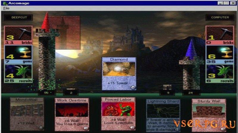 Arcomage / Аркомаг screen 1