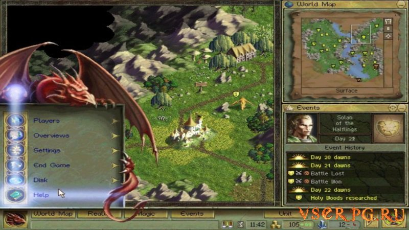 Age of Wonders screen 2