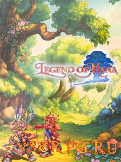 Постер игры Legend of Mana