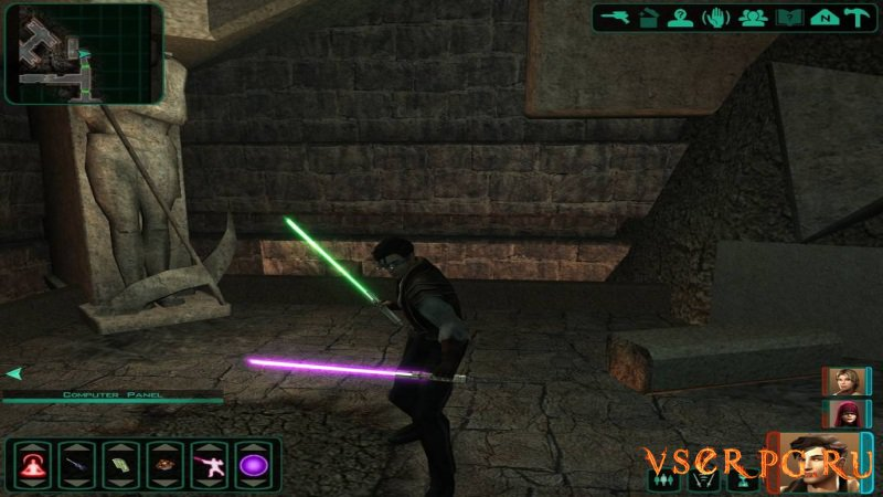Star Wars Knights of the Old Republic 2: The Sith Lords screen 1