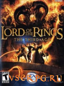 Постер игры The Lord of the Rings The Third Age