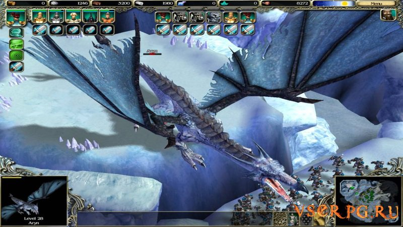 SpellForce: The Breath of Winter screen 1
