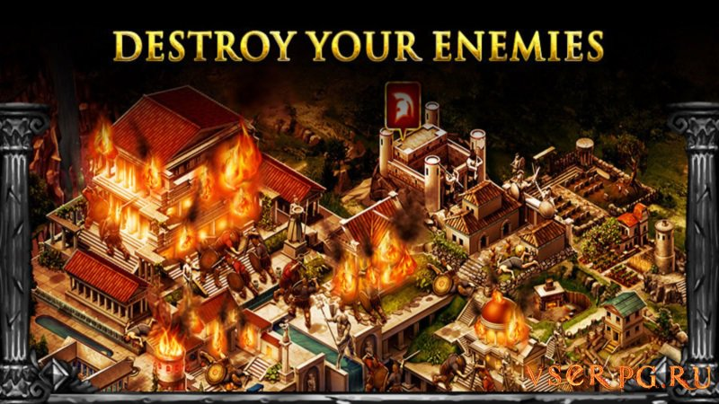 Game of War Fire Age screen 1