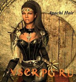 Постер игры Новые прически в Скайрим (Apachi Hair)