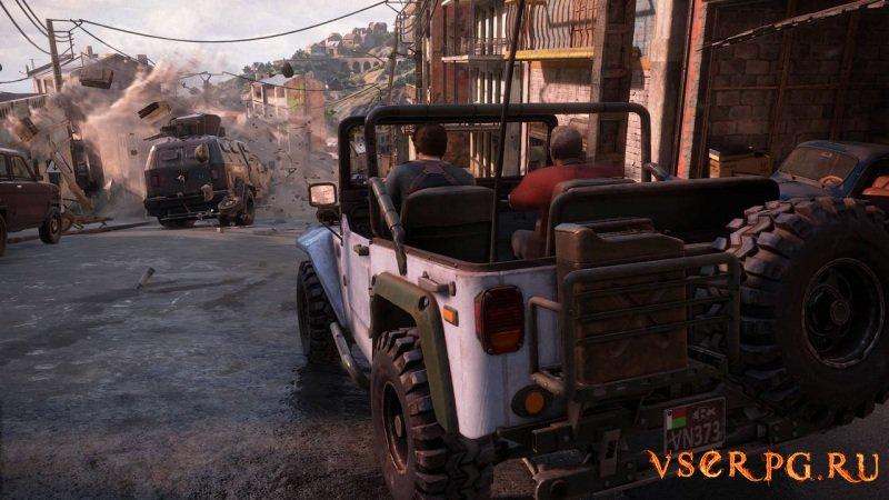 Uncharted 4: Путь вора screen 2