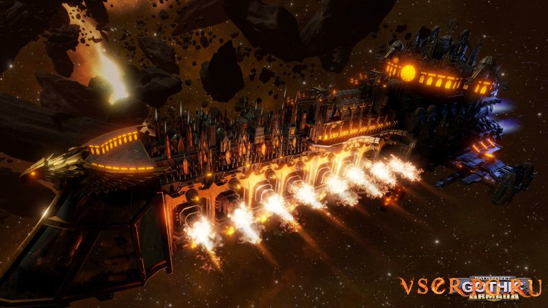 Battlefleet Gothic Armada screen 2