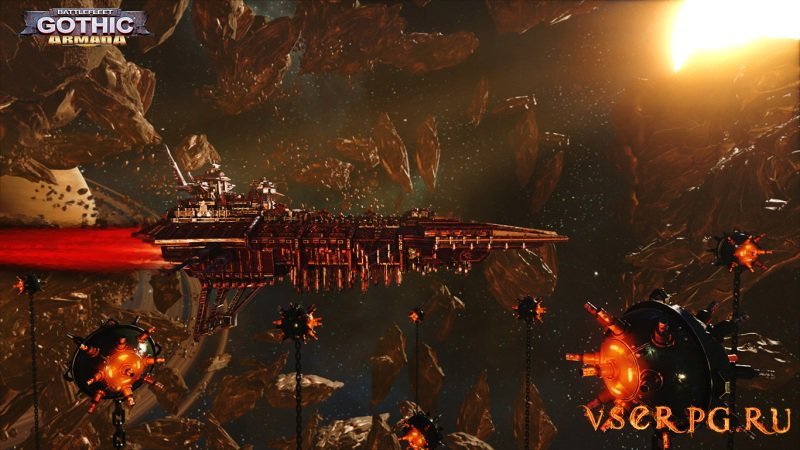 Battlefleet Gothic Armada screen 3