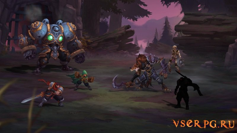 Battle Chasers Nightwar screen 1