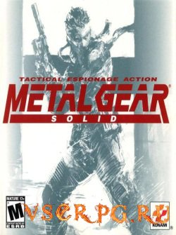 Постер игры Metal Gear Solid 1